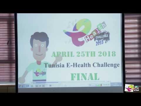 Finale de TUNISIA E HEALTH CHALLENGE 2018