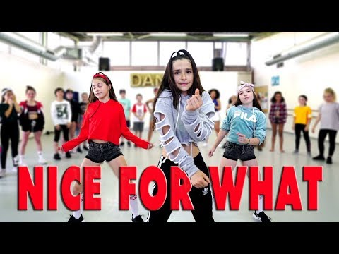 Drake Ft Big Freedia  Nice for what  Street Dance  Choreography Sabrina Lonis  KIDS