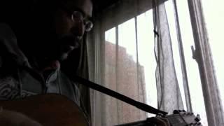 へたくそなギターと歌で上条恒彦と 六文銭の「出発の歌」を弾き語りまし...