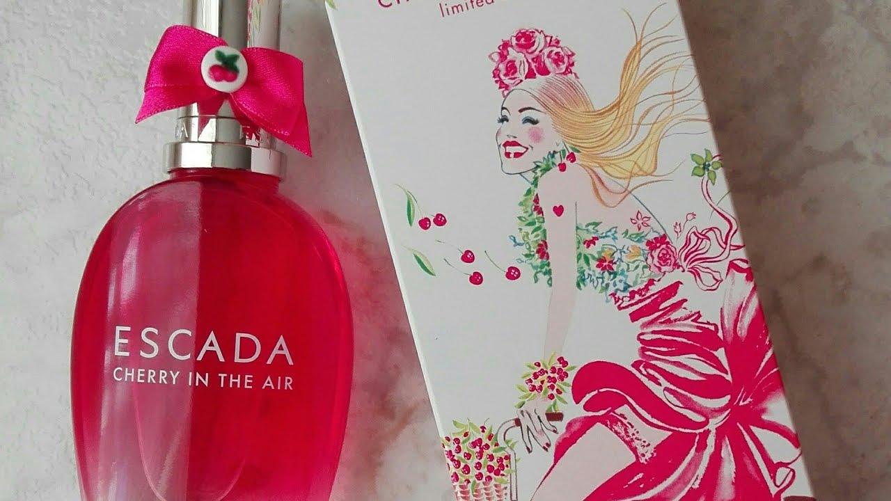 Perfume Cherry In The Air De Escada Youtube