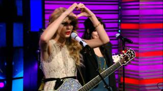 taylor swift mine live with regis kelly hdtv