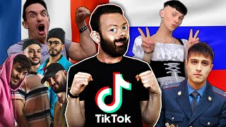 TIKTOK FRANCE VS RUSSIE