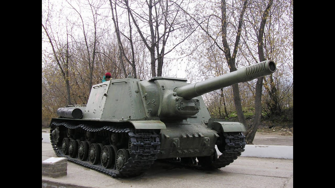 Russian Isu 152k Heavy Tank Destroyer Ready For Show