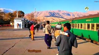 Travel By Train Pakistan Railway Journey Balochistan 2020