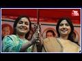 UP Ke Dil Mein Kya Hai: Dimple Yadav campaigns for sister-in-law Aparna