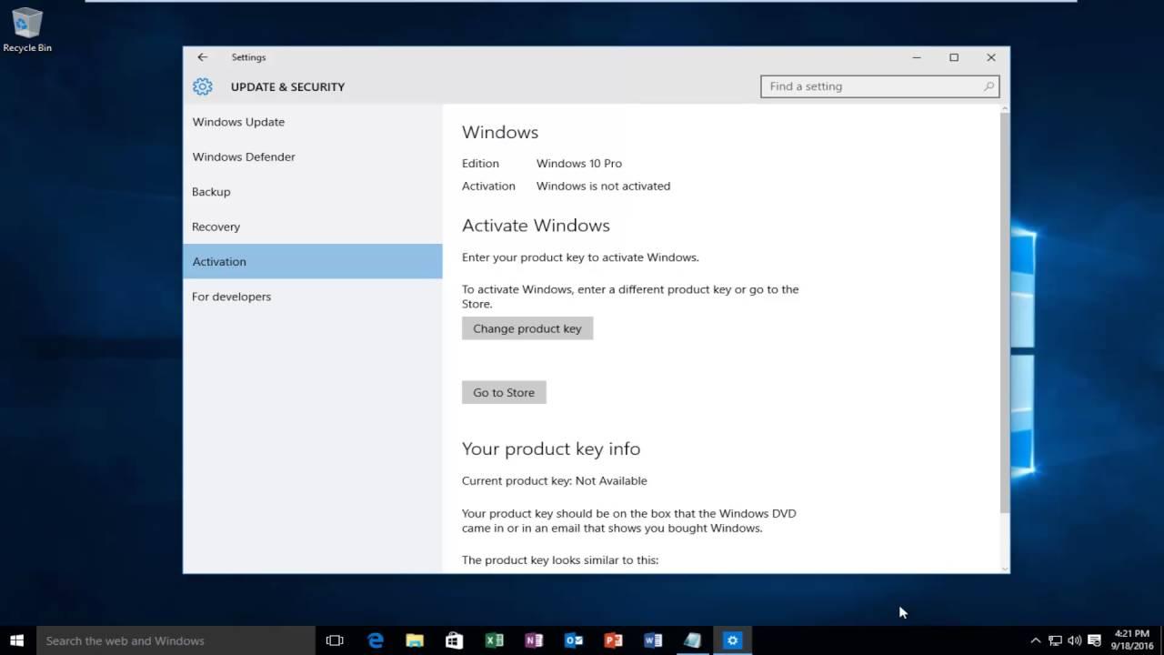 activate windows error 0xc004f034