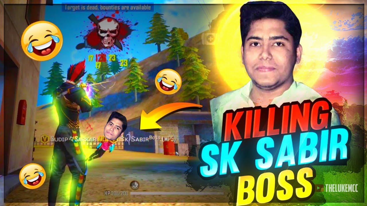 Sudip Sarkar Killed Sk Sabir Boss in Solo Custom || Garena Free Fire || Sudip Sarkar
