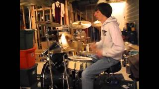 Dirty Little Girl Drum Cover Burn Halo | Zack Lee