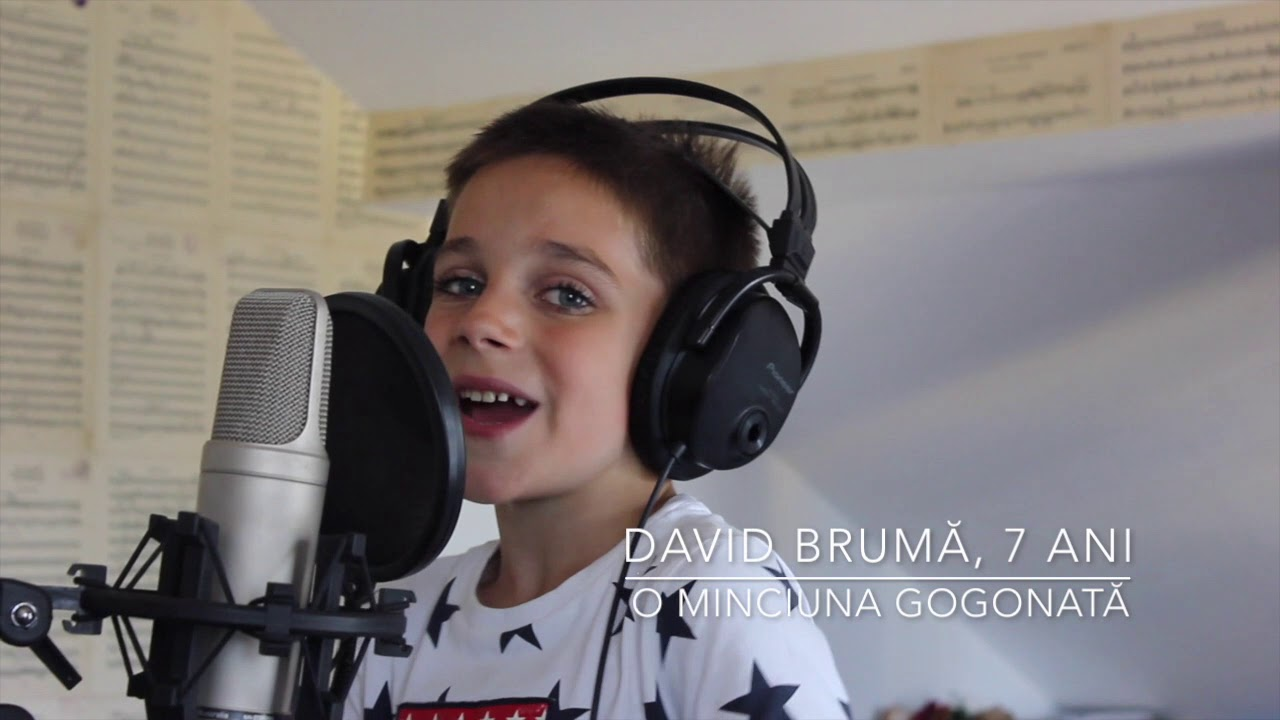 David Bruma, 7ani- O MINCIUNA GOGONATA