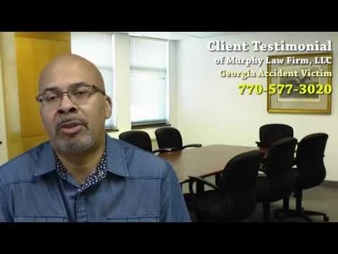 Testimonial - Powder Springs Car Accident Victim Hires Murphy Law Firm for Injury Case