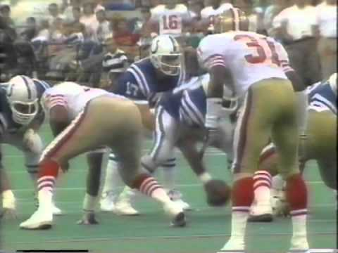 September 1989 - Colts & QB Chris Chandler Prepare for LA Rams