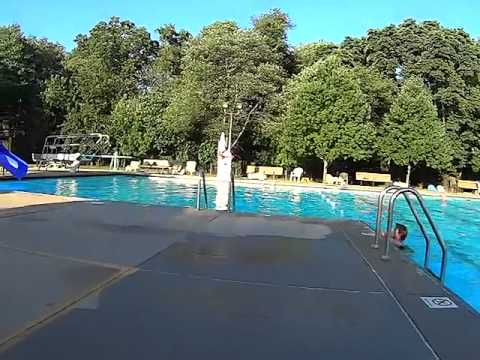 Cranford Public Swim Pool Aug 4 2015 Youtube