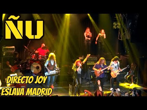 ÑU   Joy Eslava Madrid 6 Mayo 2016