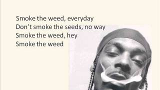 Snoop Lion feat. Collie Buddz - Smoke the Weed (Screen Lyrics)