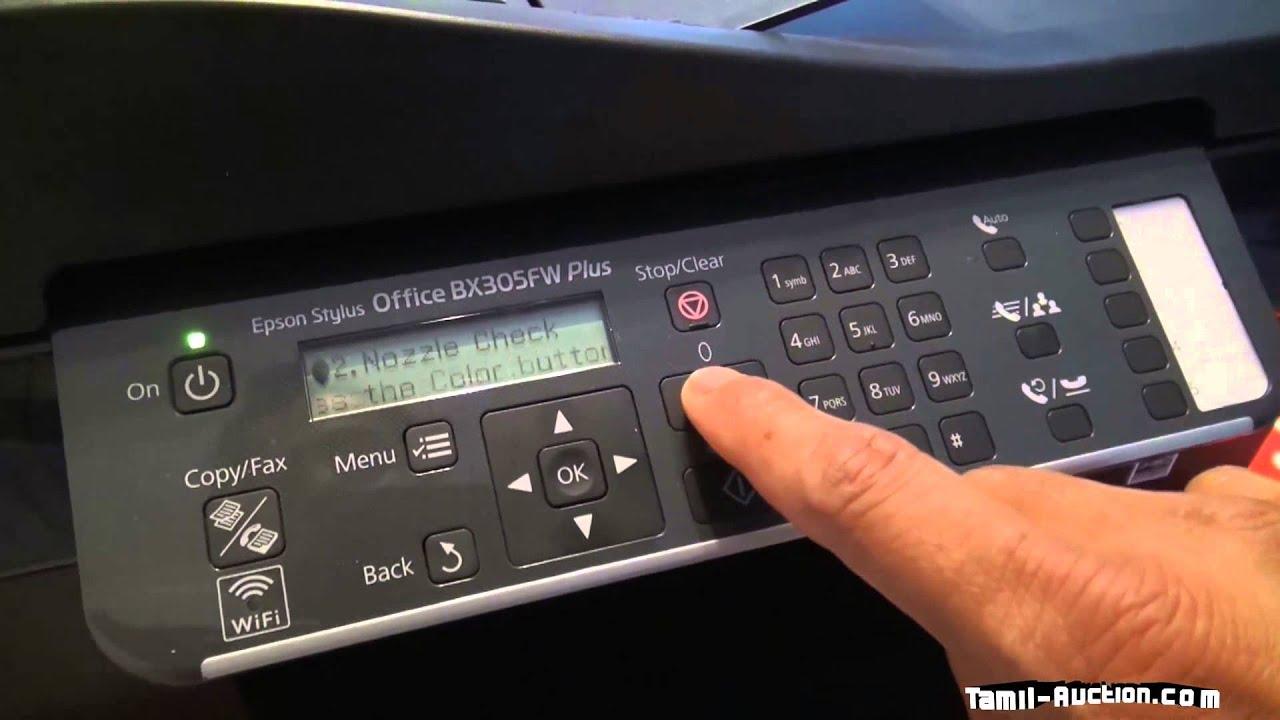 Epson stylus office bx305fw plus printhead cleaner tamil youtube - Epson stylus office bx305fw plus ...