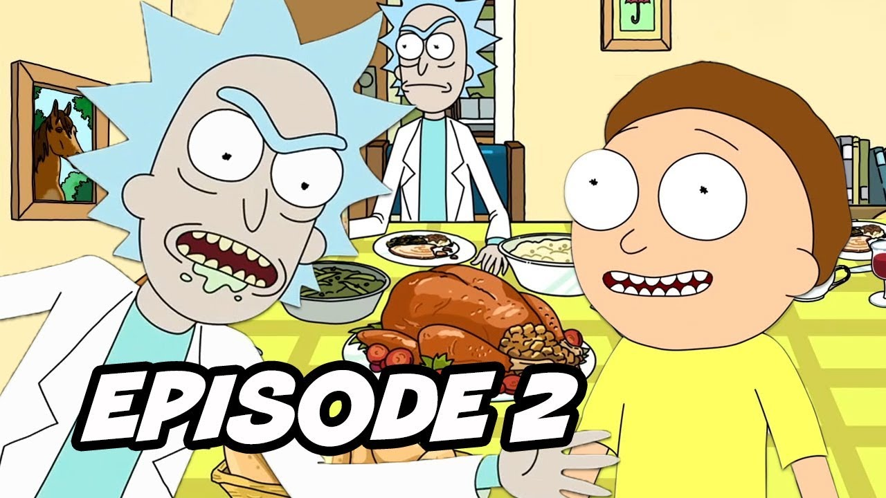 Rick And Morty Season 4 Episode 2 Opening Scene Easter