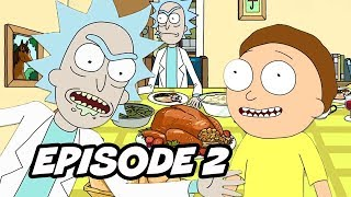 Rick and Morty Season 4 Episode 2 Opening Scene Easter Eggs Breakdown