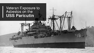 USS Paricutin AE 18 US Naval Ship USN Navy Photo Print