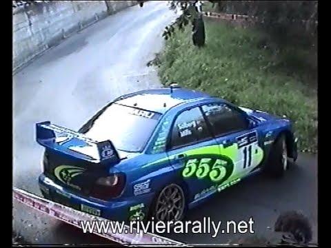 Rally Sanremo 2002 Spettacolari Testacoda Delle 3 Subaru Impreza WRC Ufficiali