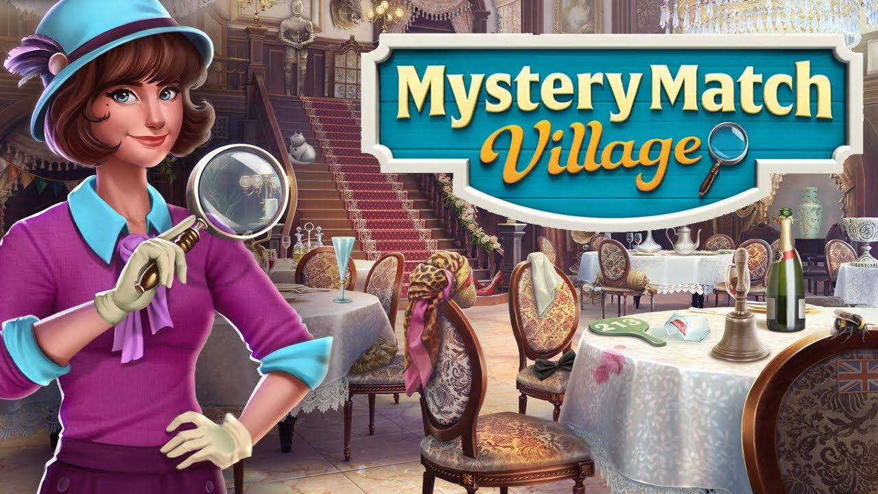 Mystery Match Village Gameplay | Android Puzzle Game - YouTube