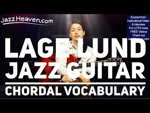 *Lage Lund Jazz Guitar Chordal Vocabulary* Lesson TRAILER JazzHeaven Instructional Video