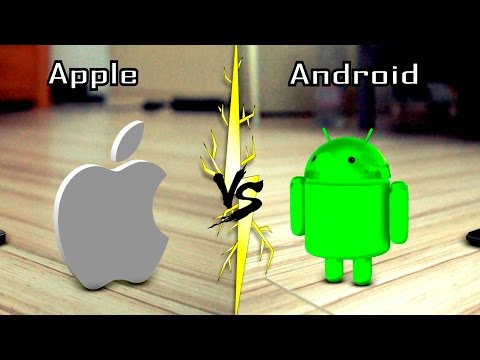 iPhone ПРОТИВ Android. 5 ЛЕТ СПУСТЯ