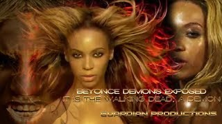 Beyonce real face - its a demon - Spawn of Lucifer