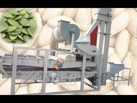 White Melon Seeds Shelling Machine|Pumpkin Seed Dehulling Plant 200-300kg/h @longer-machinery.com