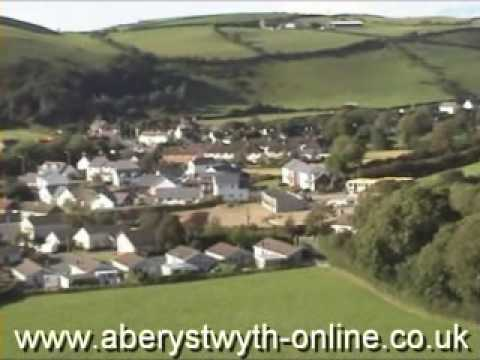 Llanrhystud A487 Ceredigion West Wales UK