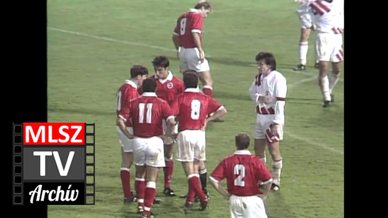 Magyarország-Svájc | 2-2 | 1995. 03. 29 | MLSZ TV Archív