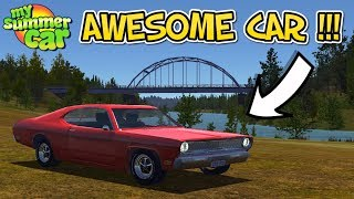 My Summer Car - New awesome car & what a sound !!!