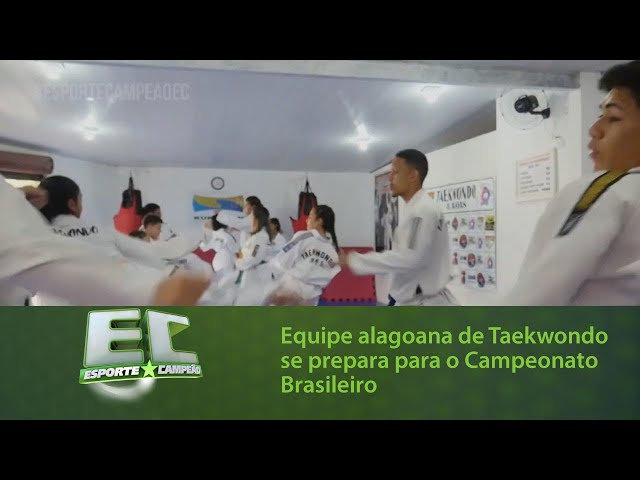 Equipe alagoana de Taekwondo se prepara para o Campeonato Brasileiro