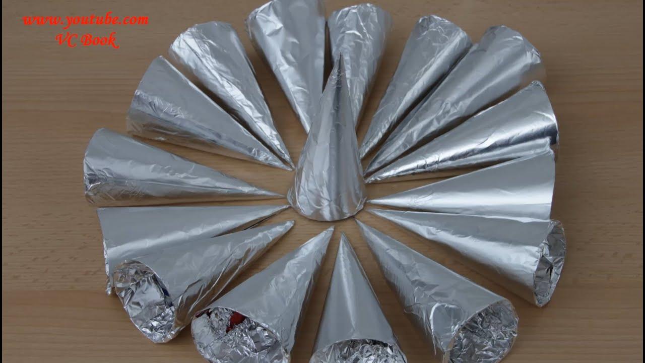 Конусы для выпечки трубочек из пивных банок 24