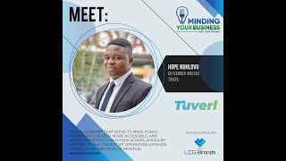 Meet Tuverl co-founder and ceo Hope Ndhlovu (Zimbabwe)