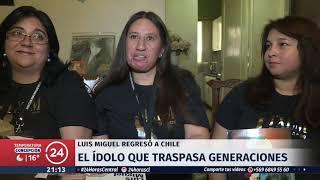 Luis Miguel llega a Chile: Sus fans lo esperaron de madrugada en el aeropuerto y hotel