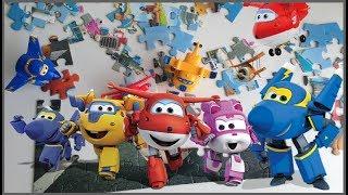 brinquedos SUPER WINGS quebra-cabeça Stop Motion