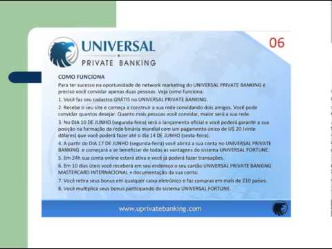 Saiba como funciona Universal Private banking
