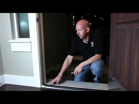 Home Maintenance - How To Adjust a Door Threshold.mov