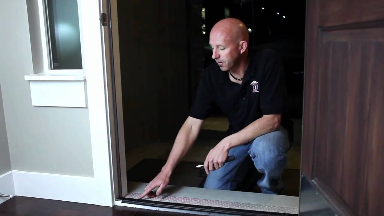 Home Maintenance How To Adjust A Door Threshold Mov