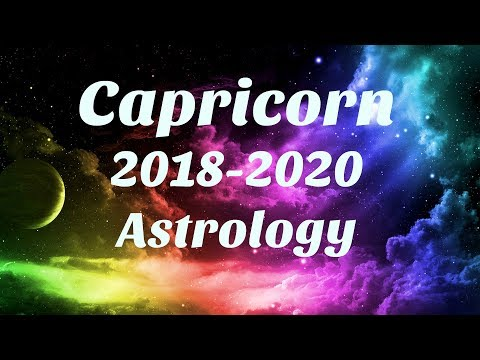 Capricorn Astrology 2018-2020 SOMETHING AMAZING Happens For You, SERIOUS MANIFESTING
