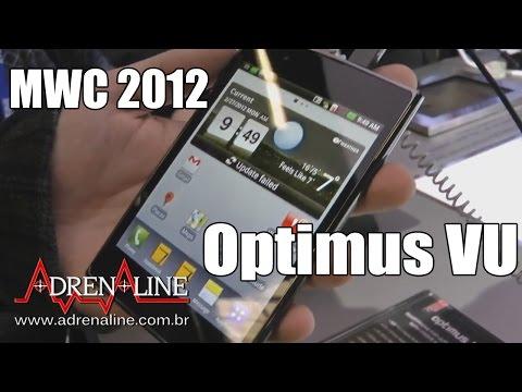 [MWC 2012] Hands-on do LG Optimus Vu