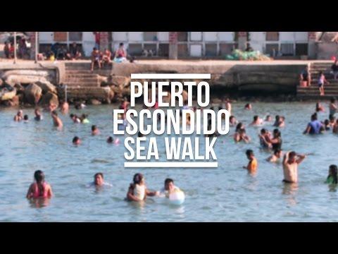 PUERTO ESCONDIDO SEA WALK (MEXICO TRAVEL VLOG) | Eileen Aldis