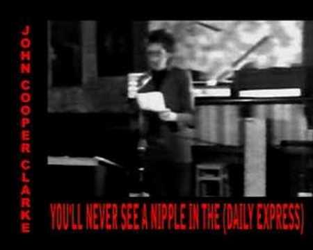 JOHN COOPER CLARKE -  DAILY  EXPRESS