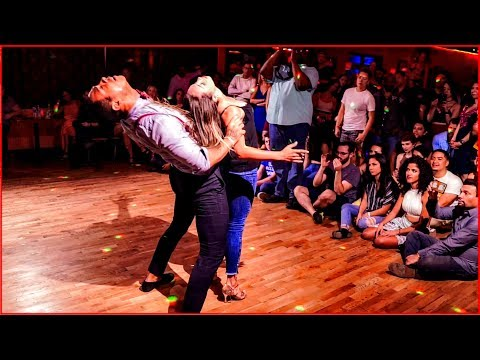 Absolutely Amazing Improvised Brazilian Zouk Dance by William Teixeira & Paloma Alves in Atlanta