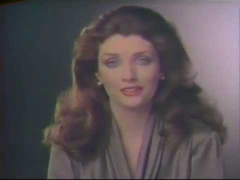 Morgan Brittany 1982 L'Oreal Eye Shadows Commercial
