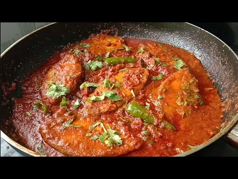FISH CURRY RECPIE - FISH CURRY IN TAMIL - RESTAURANT STYLE FISH CURRY - FISH FRY