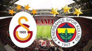 Galatasaray Fenerbahçe maçı özeti