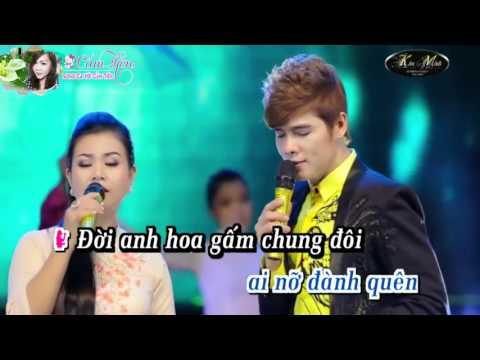 Karaoke  Mưa Bụi 2 _ Song ca với Cẩm Tiên