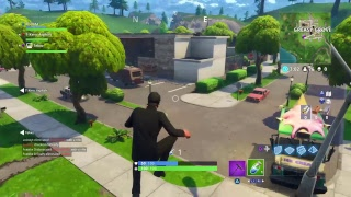 FORTNITE STREAM AIMING FOR ALL WINS (PORT-A-FORT)