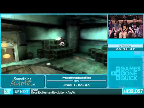 Prince of Persia: Sands of Time by Henneko_ in 1:36:28 - Summer Games Done Quick 2015 - Part 85